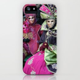 Masked Ladies of The Carnaval iPhone Case