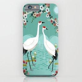 Cranes by Andrea Lauren iPhone Case