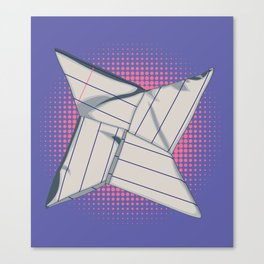 Paper Star Canvas Print