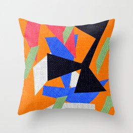 Deko Art Throw Pillow