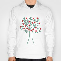 christmas tree Hoodies featuring Christmas Tree by Pippi Dust
