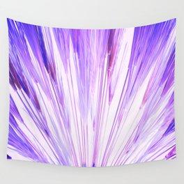 Wheat Sunburst Azul Wall Tapestry