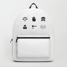 An Honest Lawyer Backpack