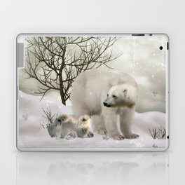 Awesome polar bear Laptop & iPad Skin