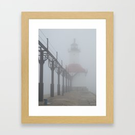 Befogged Framed Art Print