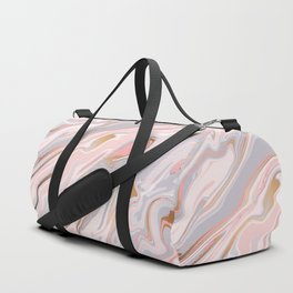 Marble and Gold 005 Duffle Bag