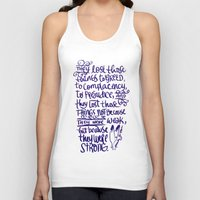 battlefield Tank Tops featuring Vlogbrothers- Thoughts From A Battlefield by deducktion