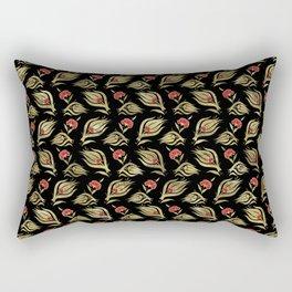 Turkish tulip - Ottoman tile pattern  4 Rectangular Pillow