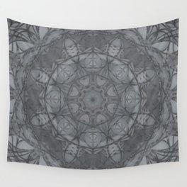 Mandala of My Indigo Light Wall Tapestry