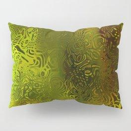 Green forest liquid Pillow Sham