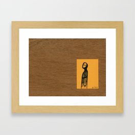 Away ... now Framed Art Print