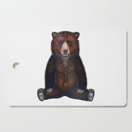 Blissed Out Bear Cutting Board