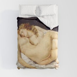 """Gustave Courbet """"The Sleep - Le Sommeil - Sleepers"""" Comforters"""