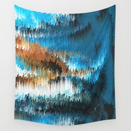 Blue Forest Shades Wall Tapestry