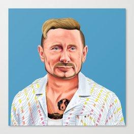 Hipstory -  vladimir putin Canvas Print