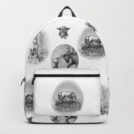 The Transformation: Elise the Unicorn Backpack