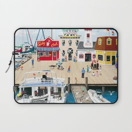 Quartet at the Quay Laptop Sleeve