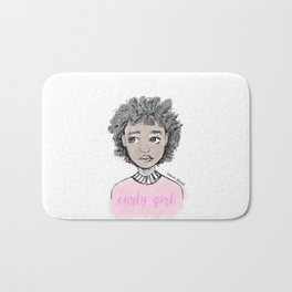 Curly Girl Bath Mat