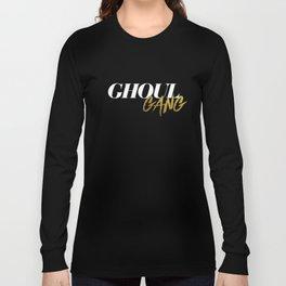 Goul Gang - White Long Sleeve T-shirt