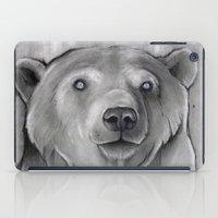 teddy bear iPad Cases featuring Teddy Bear by Puddingshades