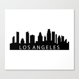 Los Angeles skyline Canvas Print