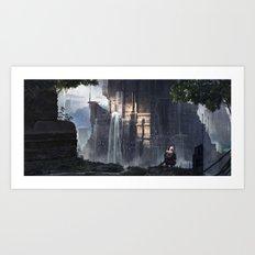 Temple Art Print