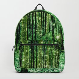 Magical Forest Green Elegance Backpack