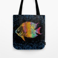 fish Tote Bags featuring  Fish by Vitta