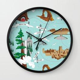 National Parks Wall Clock