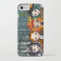 oz iPhone & iPod Cases featuring Oz Girls by Sandra Vargas