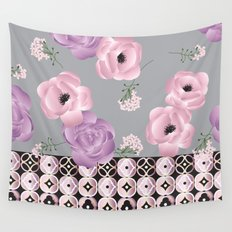 Purple & Pink Wall Tapestry