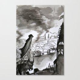 Chronicles of Assassins Canvas Print