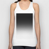 ombre Tank Tops featuring Black Ombre by 2sweet4words Designs
