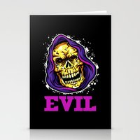 evil Stationery Cards featuring EVIL by DesecrateART (Infected)