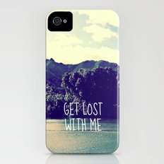 GET LOST on NORTH SHORE  iPhone (4, 4s) Slim Case