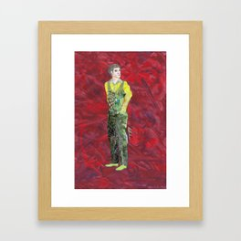 Collage Collection - Claudio Framed Art Print