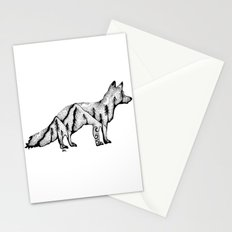 Wandering Fox, Hidden Scene, Nature, Mountains and Forest, Ocean, Wanderlust, Travel Stationery Cards