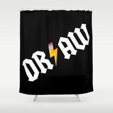 DR/AW Shower Curtain