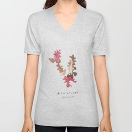 Matisse Inspired   Becoming Series    Courtship Unisex V-Neck