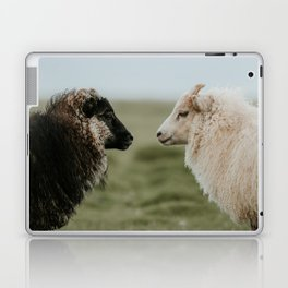 Sheeply in Love - Animal Photography from Iceland Laptop & iPad Skin