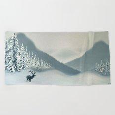 Colorado Snow Beach Towel