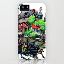 Howls Castle iPhone Case