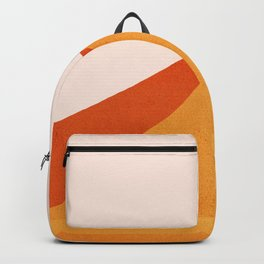 Abstraction_Mountains_SUN_Minimalism_01 Backpack
