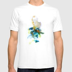 Spring Figure MEDIUM White Mens Fitted Tee