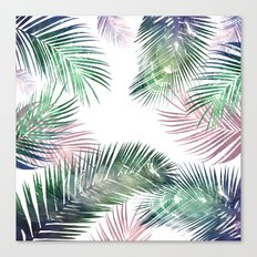 tropical leaves 2 Canvas Print