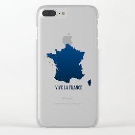 Vive la Fance Clear iPhone Case