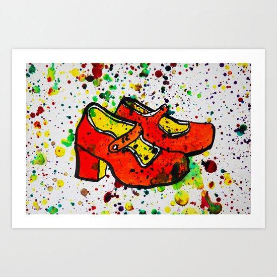 Shoe-Be-Do 1 Art Print
