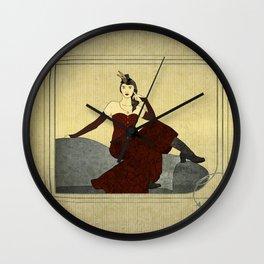 Steampunk Chic Wall Clock