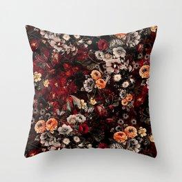 Night Garden Lava Throw Pillow