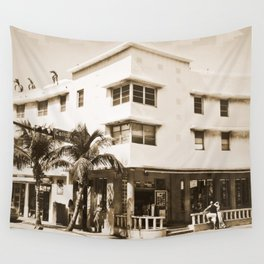 Collins Avenue, Miami Beach Wall Tapestry